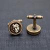 Cufflinks Friday the 13th  - Vintage style acrylic cuff links