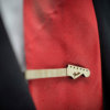 Guitar neck Tie Clip  - Maple wood tie bar