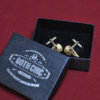 Raven Skull Cufflinks - Hand made realistic replica bird skull cuff links