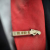SEX DRUGS and ROCK'Roll Tie Clip  - Maple wood tie bar