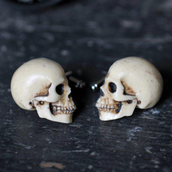 Skull Cufflinks - Chic Hand made skull cuff links