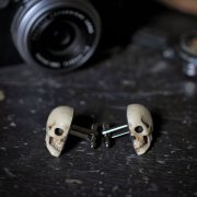 Skull Cufflinks - Chic Hand made skull cuff links