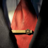Star Wars Tie Clip GALACTIC EMPIRE logo - Maple wood tie bar