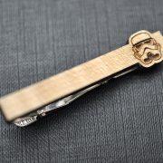 Star Wars Tie Clip - Maple wood STORMTROOPER  tie bar