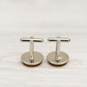 Wedding Cufflinks - Brother of the BRIDE - Very elegant wooden wedding ceremony cuff links