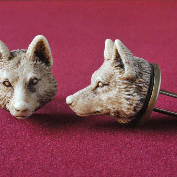 Wolf MAN Cufflinks - Victorian style hand made cuff links