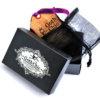 WOOD cufflinks -CARPE DIEM quote - Very elegant mens cuff links