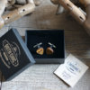 Wood Cufflinks Guitar Pick - Fender